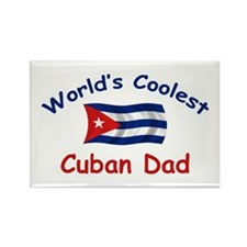 Coolest Cuban Dad Rectangle Magnet