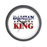 DAMIAN for king Wall Clock