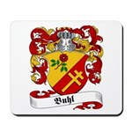 Buhl Family Crest Mousepad