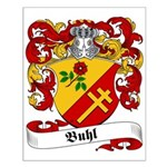 Buhl Family Crest Small Poster