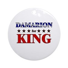 DAMARION for king Ornament (Round)