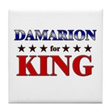 DAMARION for king Tile Coaster
