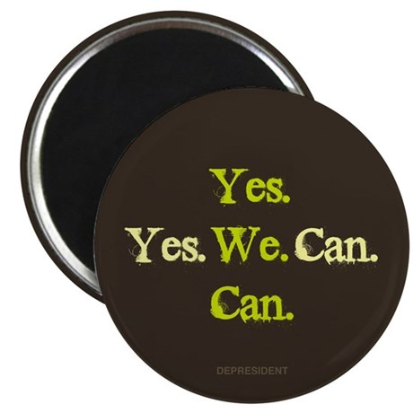"Yes We Can 2.25"" Magnet (100 pack)"