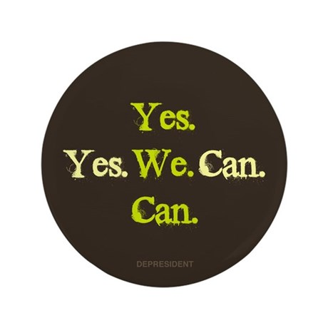 "Yes We Can 3.5"" Button (100 pack)"