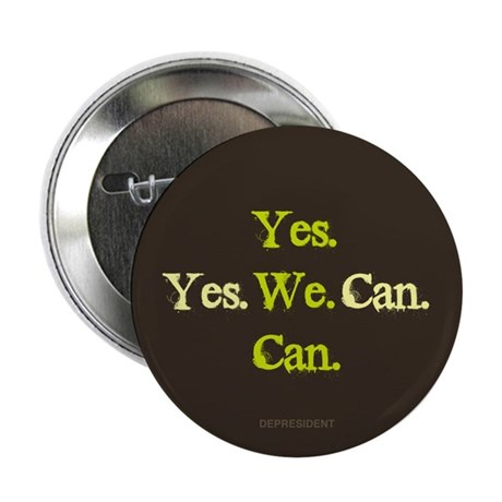 "Yes We Can 2.25"" Button (10 pack)"
