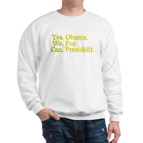 Yes We Can Sweatshirt
