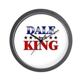 DALE for king Wall Clock