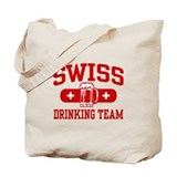 Swiss Drinking Team Tote Bag