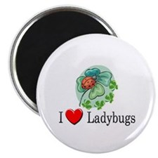 "I Love Ladybugs 2.25"" Magnet (10 pack)"