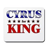 CYRUS for king Mousepad