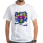Carl Family Crest White T-Shirt