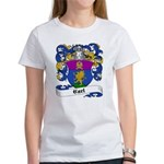Carl Family Crest Women's T-Shirt