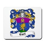 Carl Family Crest Mousepad