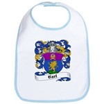 Carl Family Crest Bib