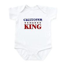CRISTOFER for king Infant Bodysuit