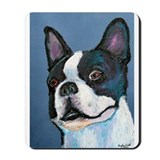 A Boston Terrier Mousepad
