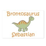 Brontosaurus Sebastian Postcards (Package of 8)