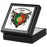 Number One Portuguese Dad Keepsake Box