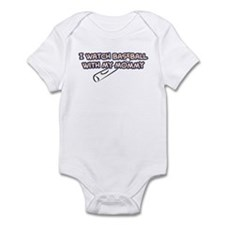New York Baseball I Mommy Infant Bodysuit