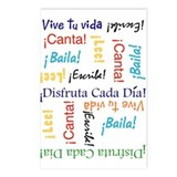 Vive tu vida!Postcards (Package of 8)