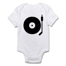 Old school record player blac Onesie