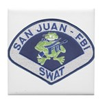 San Juan FBI SWAT Tile Coaster