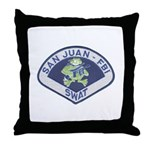 San Juan FBI SWAT Throw Pillow