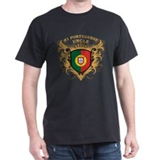 Number One Portuguese Uncle T-Shirt