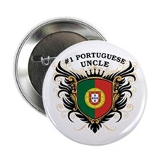 "Number One Portuguese Uncle 2.25"" Button"