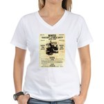 Bonnie Parker Women's V-Neck T-Shirt