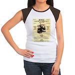 Bonnie Parker Women's Cap Sleeve T-Shirt