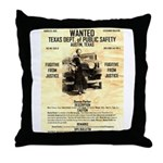 Bonnie Parker Throw Pillow