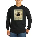 Bonnie Parker Long Sleeve Dark T-Shirt