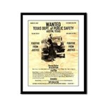 Bonnie Parker Framed Panel Print