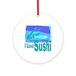 Sushi Keepsake (Round)