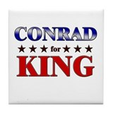 CONRAD for king Tile Coaster