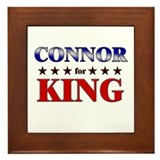 CONNOR for king Framed Tile