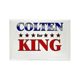 COLTEN for king Rectangle Magnet