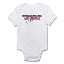 St. Louis Baseball Daddy Infant Bodysuit