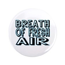 "Fresh Air 3.5"" Button (100 pack)"