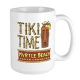 Myrtle Beach Tiki Time - Ceramic Mugs