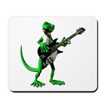 Electric Guitar Gecko Mousepad