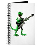 Electric Guitar Gecko Journal
