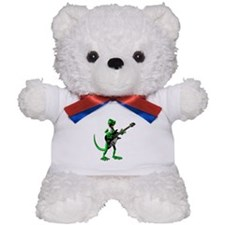 Electric Guitar Gecko Teddy Bear