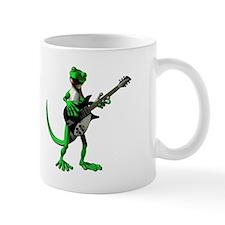Electric Guitar Gecko Mug