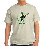 Electric Guitar Gecko Light T-Shirt