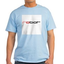 robot Ash Grey T-Shirt