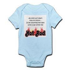 Hot Rod Baby Count Infant Bodysuit