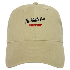 """The World's Best Farrier"" Cap"