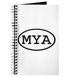MYA Oval Journal